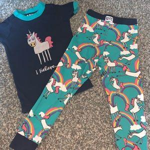 Unicorn 2 pc. Pajama set